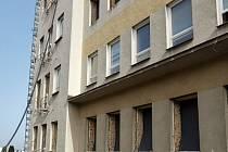 Rekonstrukce chebské nemocnice.