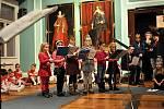 Děti zpříjemnily advent vánočním koncertem