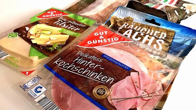 Německé potraviny.