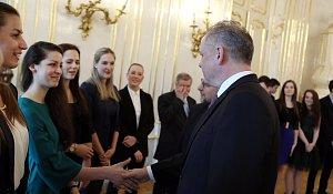 Studenti zavítali na Slovensko. Přijal je prezident Andrej Kiska