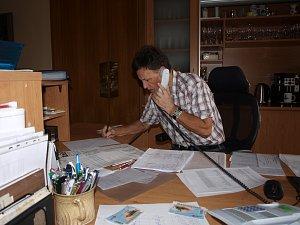Jaroslav Krajc v akci.