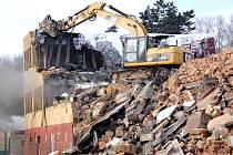 Kasárna nechalo město před lety zbourat.