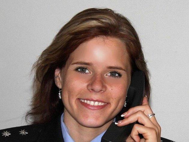 Andrea Kávová, policejní mluvčí.