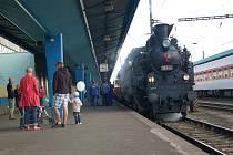 Den železnice se oslavoval i na Chebsku. Přijela sem historická Všudybylka.
