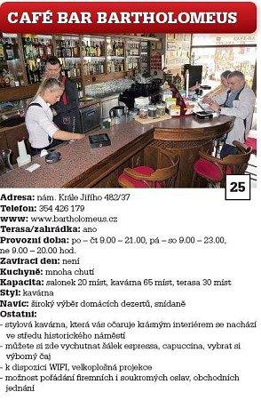 Café Bar Bartholomeus.