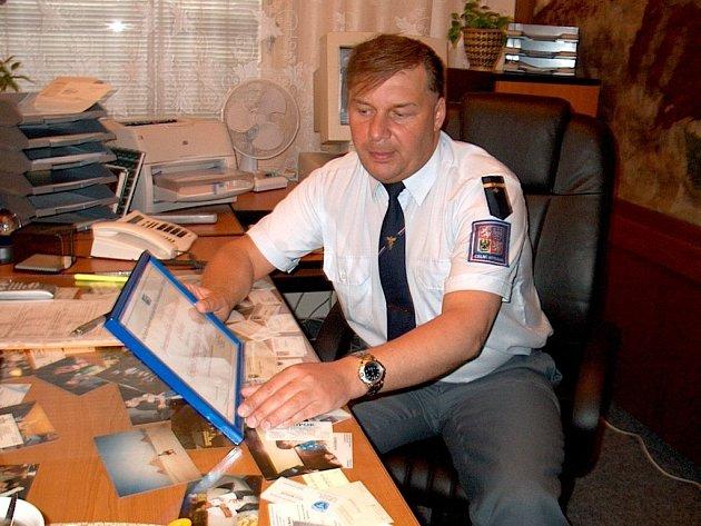 plk. Bc Roman Šťovíček, ředitel Celního úřadu Chebu