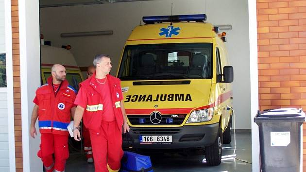 Stanice Rychlé záchranné služby v Mariánských Lázních byla slavnostně otevřena v září 2005