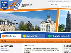 Web města Aše.