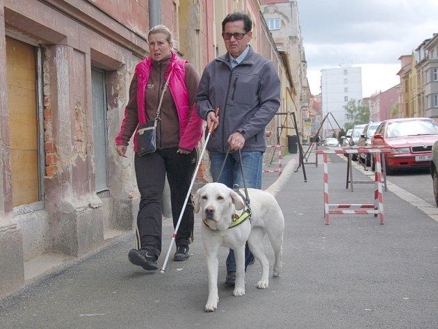 V POŘADÍ již pátý ročník regionálního setkání vodicích psů se uskutečnil opět v Chebu.