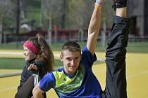 David Richter mezi juniory zazářil. Jeho běh patřil k tomu nejlepšímu, co zatím ve své atletické kariéře předvedl.