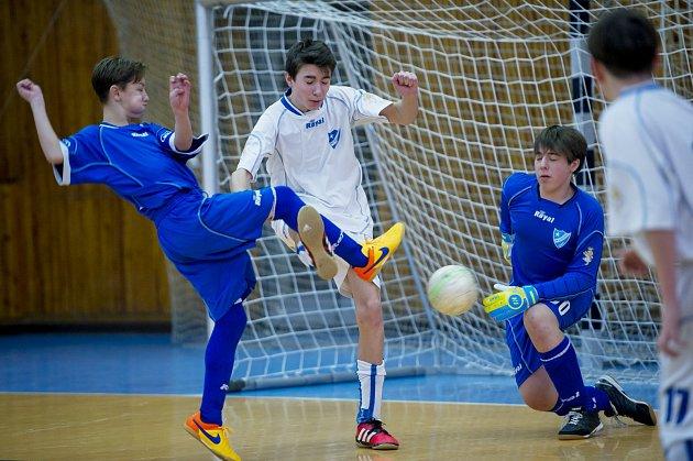 Chebská hala hostila fotbalový turnaj mládeže