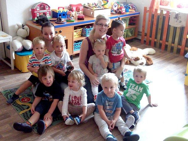 KLUBÍČKO V NOVÉM. V nových prostorách Mateřského centra Klubíčko Cheb začala fungovat dětská skupina Batole.