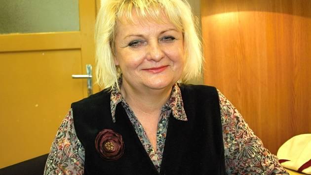 Herečka Jarmila Šimčíková (na snímku) už v chebském divadle účinkuje 33 let.