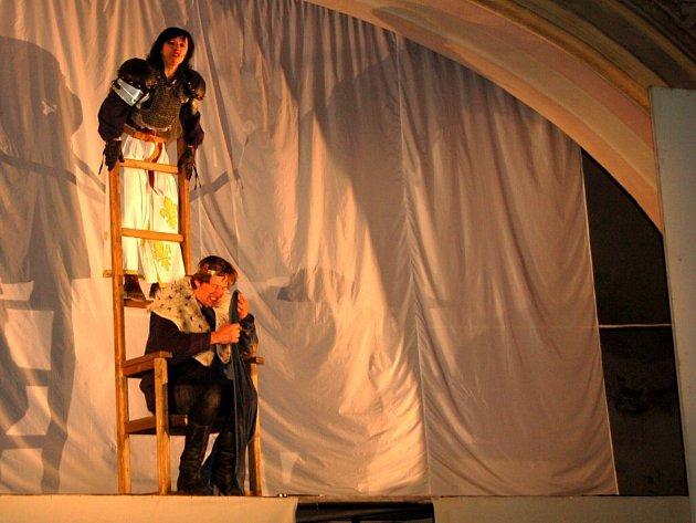 Repríza hry Johanka z Arku v chebském kostele Zvěstování Panny Marie