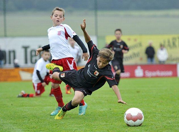 Českoněmecká fotbalová škola chystá další mládežnické turnaje