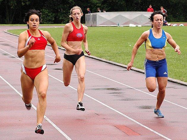 Běh na 150 metrů ženy
