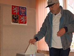 Volby v chebské ulici Kamenná.