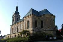 Kostel Jiljí v Teplé.
