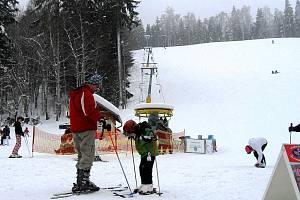 Mariánské Lázně lákají i na lyžování.