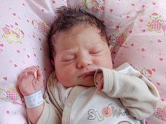 NATÁLIE PIŠTOVÁ si poprvé prohlédla svět v úterý 24. března v 7.50 hodin. Při narození vážila 3 400 gramů a měřila 49 centimetrů. Doma v Mariánských Lázních se z malé Natálky raduje maminka Eliška spolu s tatínkem Františkem.