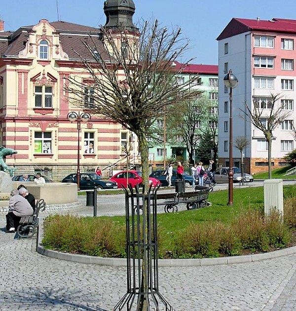 Neduživé akáty na ašském Poštovním náměstí nahradí jabloně malusy. S přesazováním stromů se začne co nejdřív.