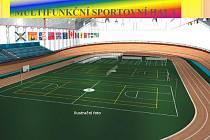 Asi takto by měla vypadat nová multifunkční sportovní hala, která by mohla vyrůst v areálu TJ Olympionik Cheb