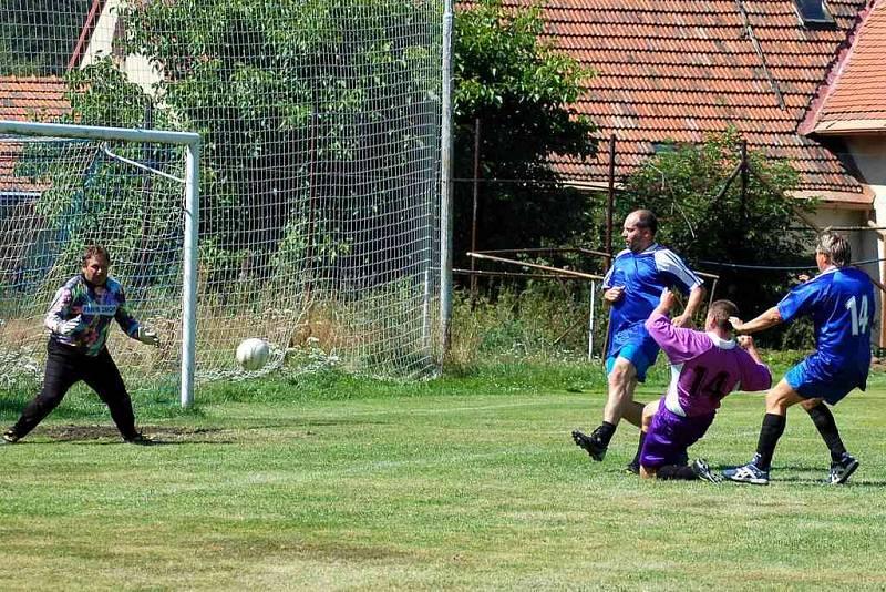 Finálový zápas mezi Dolním Žandovem a Libní