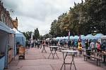Festival vína v Mariánských Lázních.