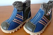 Nebezpečná dětská zimní obuv