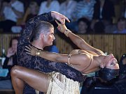 Úspěšní chebští tanečníci Magdaléna Hanušová a Nicolas Tůma