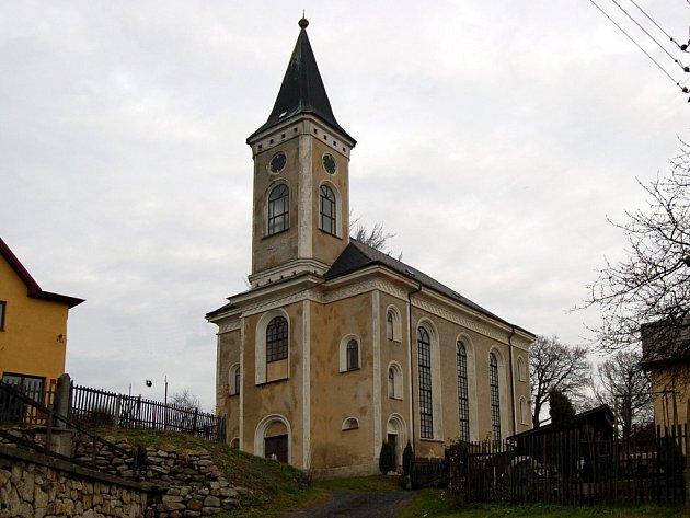 Kostel v Plesné