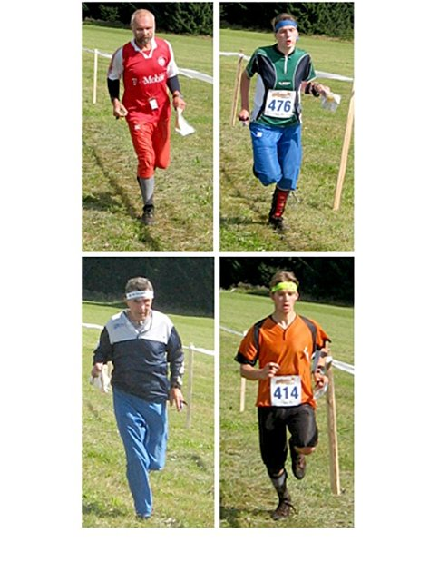 Běžci MLOK Mariánské Lázně