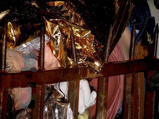 Žena z Aše se nabodla na kovový hrot od plotu. Pomoci jí museli hasiči.