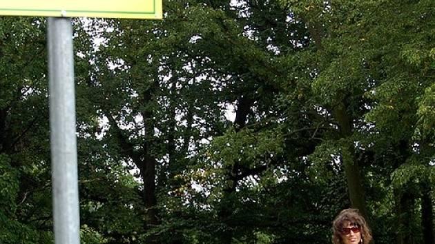 Dvořákovy sady včetně sportovního hřiště se stala zónou pro volné venčení psů