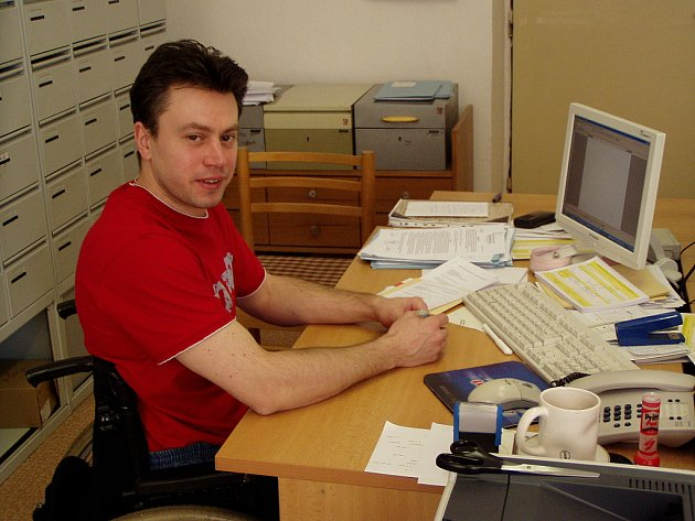 Tomáš Harant,  předseda SKVZR Cheb.