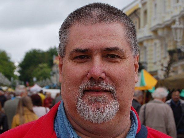 Arnošt Němec, ředitel MKS Františkovy Lázně.
