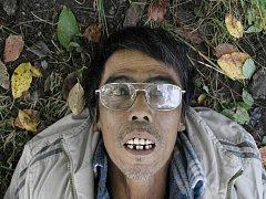 MRTVÝ MUŽ objevený v Chebu.