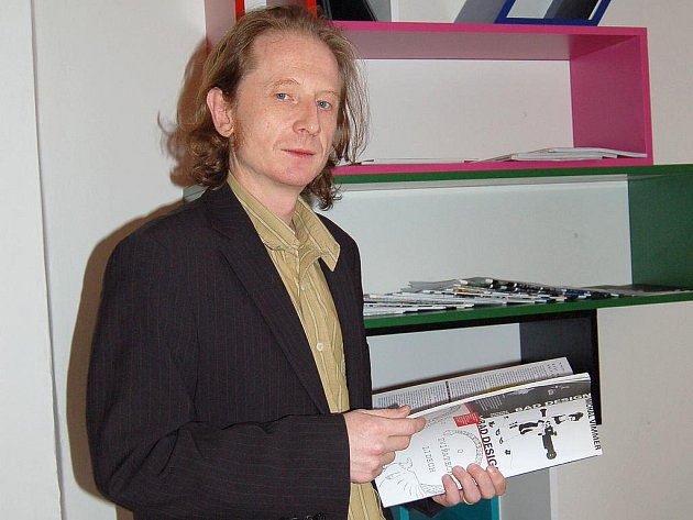 Ředitel GAVU Marcel Fišer.