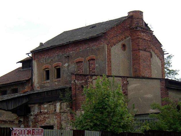 Bývalý pivovar v chebské Dyleňské ulici