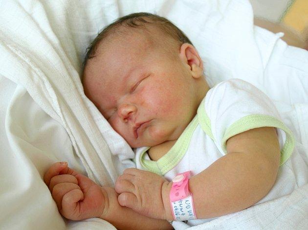 ANNA PAVLÍNA NOVÁKOVÁ bude mít v rodném listě datum narození úterý 19. června v 17.12 hodin. Při narození vážila 4000 gramů a měřila 52 centimetrů. Z malé Aničky se raduje doma ve Františkových Lázních bráška Lukášek, maminka Olgy a tatínek Lukáš.