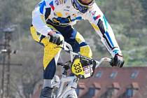 Petr Mühlhans získal na závodech v Nižboru druhé místo