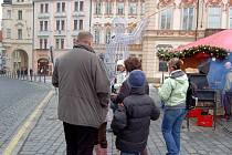 Výlet dětí z Chebska do Prahy