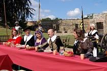 Součástí Valdštejnských oslav bude opět oběd s Valdštejnem na Chebském hradě