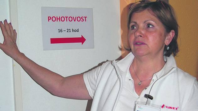 Pohotovost začala v mariánskolázeňské nemocnici fungovat před rokem.
