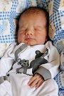MATYÁŠ LAVIČKA se narodil v neděli 7. února v 12.47 hodin. Na svět přišel s váhou 3 360 gramů a mírou 53 centimetrů. Z malého Matyáška se raduje doma v Podhradu bráška Vojtíšek spolu s maminkou Jitkou a tatínkem Petrem.