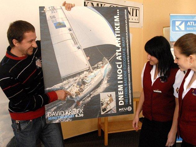 Mořeplavec David Křížek na besedě v mariánskolázeňské hotelové škole