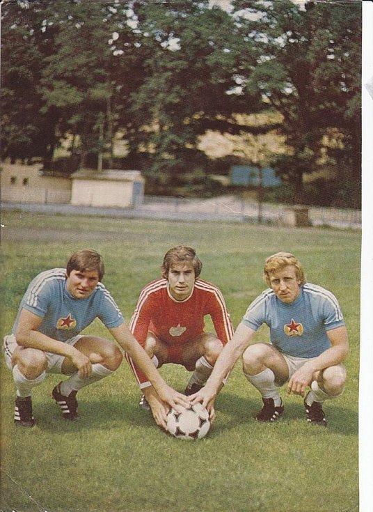 Chebské legendy Stanislav Smolaga, Václav Lavička a Zdeněk Koubek.