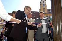 Slavnostní zahájení provozu v novém chebském infocentru