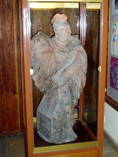 Socha sv. Floriánka