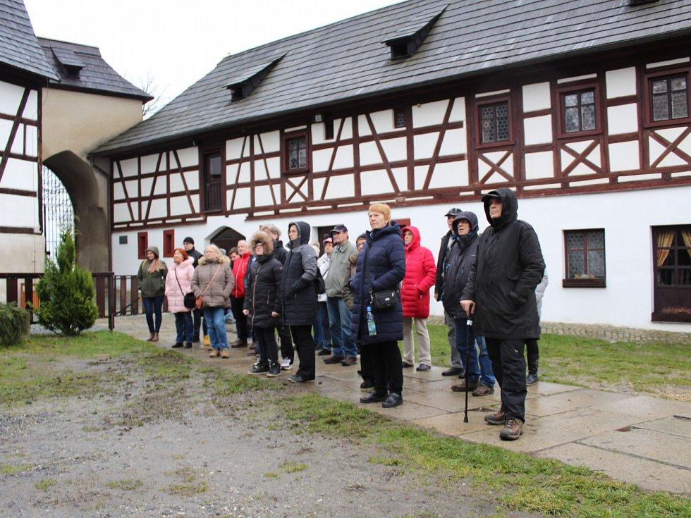 Letos poprvé mohli zájemci navštívit hrad Seeberg nedaleko Františkových Lázní i o vánočních svátcích.